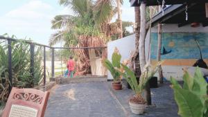 The swimming pool at or near Villa crocodile beach