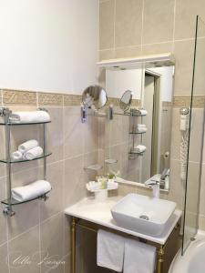 Ванная комната в Villa Ksenija