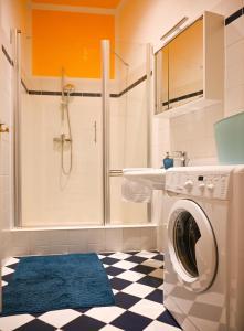 Koupelna v ubytování Exclusive Apartment Schönbrunn