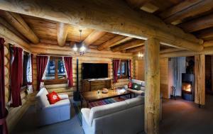 Posedenie v ubytovaní High Tatras Chalet