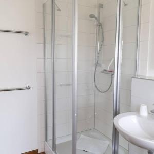 Ein Badezimmer in der Unterkunft Pension Boitz