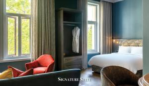 A bed or beds in a room at Labotessa Boutique Hotel
