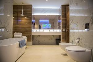 Ванная комната в Гостиница Северная