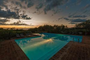 The swimming pool at or near La Casetta - Casa di Campagna