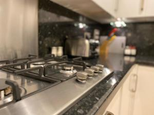 A kitchen or kitchenette at SYL Accommodation at Attenborough Court