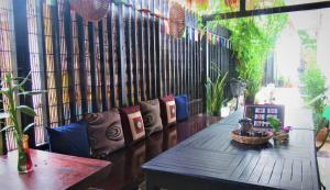 Zona de estar de 333 Hostel Siem Reap