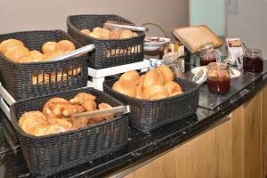 Frühstücksoptionen für Gäste der Unterkunft Ringhotel Zweibruecker Hof