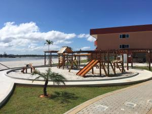 Children's play area at Golden Lake Apart-Hotel