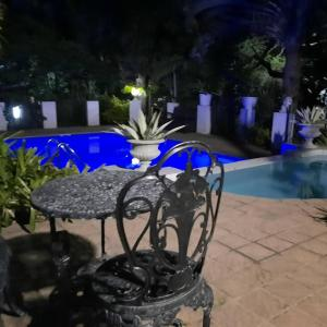The swimming pool at or near St. Lucia Wetlands Guest House