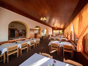 Restaurace v ubytování Penzion Vyhlídka Janovičky