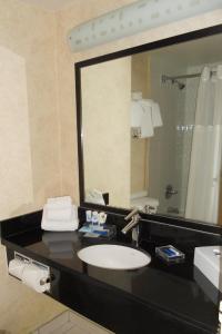 A bathroom at Park Inn & Suites by Radisson