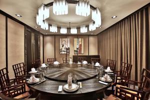 桂田酒店餐廳或用餐的地方
