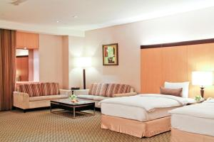 桂田酒店房間的床
