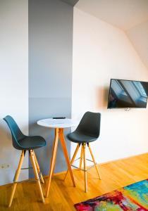 Posezení v ubytování Backpacker Apartment Schönbrunn