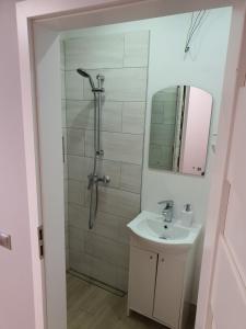 Łazienka w obiekcie Hostel Camera