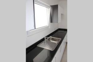 A cozinha ou cozinha compacta de Great Apartment in Noord