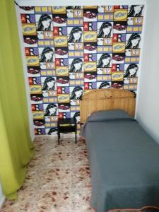Zona de estar de Alcaravaneras Hostel