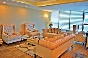 A seating area at Centaurus Hotel Apartments