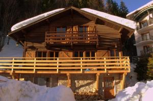Chalet Falcon during the winter