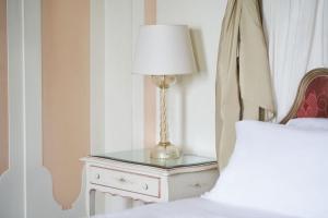 Ein Bett oder Betten in einem Zimmer der Unterkunft Cipriani, A Belmond Hotel, Venice