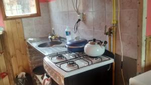 Una cocina o kitchenette en Max