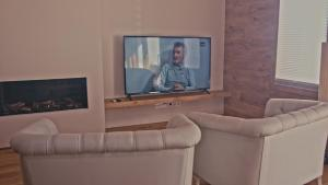 Zona de estar de Hotel Els Caçadors de Ribes