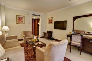 A seating area at Pearl Continental Hotel, Peshawar
