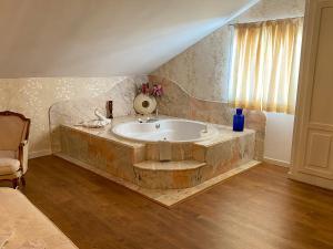 Ванная комната в Hotel Principe