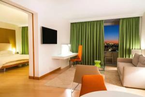 Χώρος καθιστικού στο Hilton Athens
