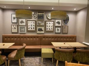 The lounge or bar area at The Malvern Hills Hotel