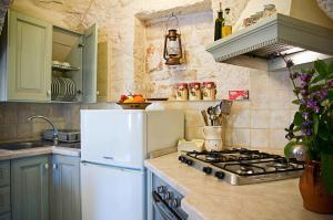 Cucina o angolo cottura di Trulli Il Castagno