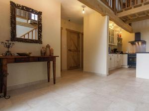 The lobby or reception area at Spacious Holiday Home with Private Pool in Auriac France