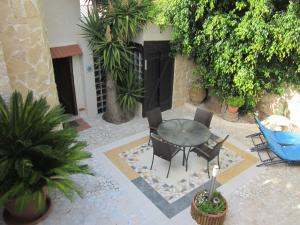 A porch or other outdoor area at Peaceful Villa in Giannoudi Crete with Swimming Pool