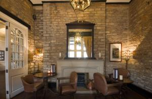 A seating area at The Snooty Fox