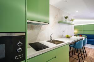 A kitchen or kitchenette at Intur Castellon