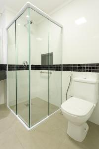 Um banheiro em Hotel Villa Fiori