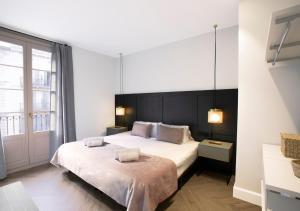 Cama o camas de una habitación en Weflating City Center