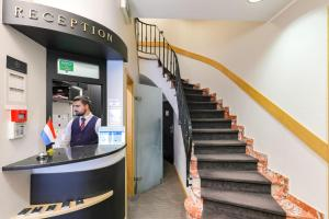 Lobby/Rezeption in der Unterkunft Hotel Vauban