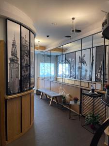 Ein Restaurant oder anderes Speiselokal in der Unterkunft Hotel Vauban