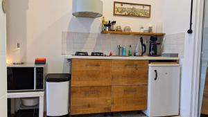 A kitchen or kitchenette at Park 43