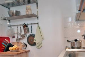 Cucina o angolo cottura di Casa Kalypso