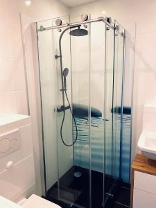 Ein Badezimmer in der Unterkunft Apartment End
