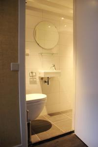 A bathroom at House of Freddy