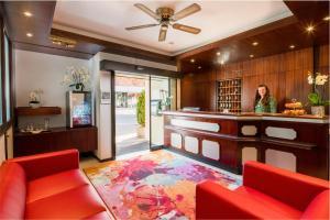 Lobby/Rezeption in der Unterkunft Hotel Wanner