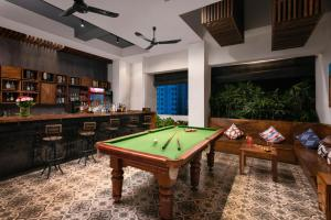A pool table at PATIO Hotel & Urban Resort