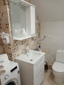 A bathroom at Арт Симбирск