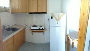 Η κουζίνα ή μικρή κουζίνα στο Panorama Plati