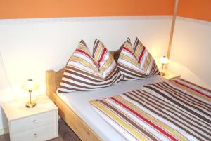 Ein Bett oder Betten in einem Zimmer der Unterkunft House with 3 bedrooms in Purgstall with enclosed garden and WiFi 40 km from the slopes