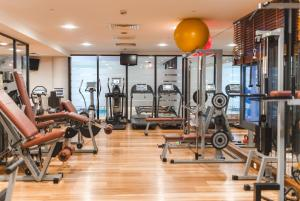 The fitness center and/or fitness facilities at Sheraton Grand Krakow