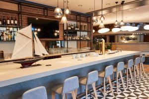 Lounge oder Bar in der Unterkunft Steigenberger Conti Hansa